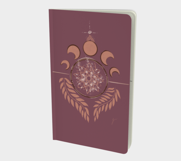 Mandala lune Journal